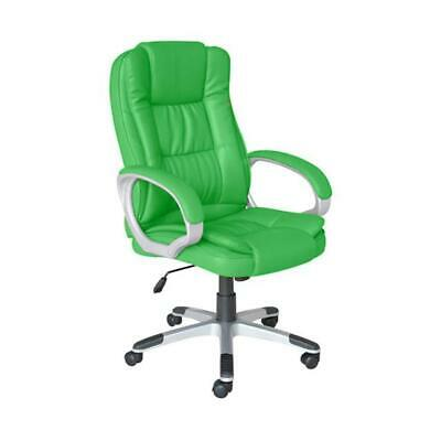 PU Leather Computer Executive Study Desk Office Chair Adjustable 360° Swivel New