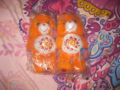 X2 Orange Care Bears Brand New