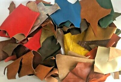 650g Bag Of Mixed Quality Scrap Leather Arts & Crafts,Off Cuts,Remnants,Pieces