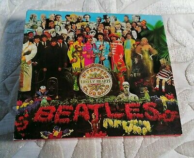 Beatles ‎Sgt. Pepper's Lonely Hearts Club Band ‎Cdp7464422 Cd Slipcase Uk 1987