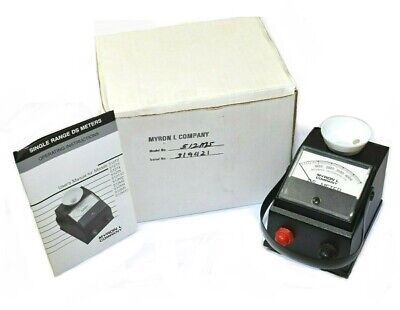 Myron L Company Model 512M5 Single Range DS Meter 0-5000 micromhos [Ref A]
