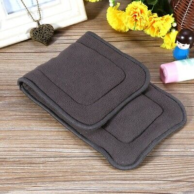 5 Layers Baby Reusable Bamboo Charcoal Fiber Cloth Nappy Insert Diaper