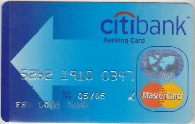 c. EXPIRED US BANKCARD CITIBANK