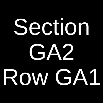 4 Tickets AJR 5/22/20 Jacobs Pavilion Cleveland, OH