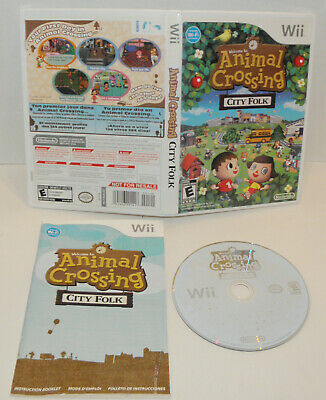 Animal Crossing  City Folk  Nintendo Wii