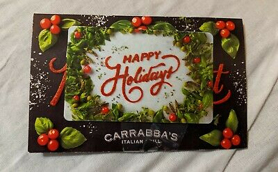 Carrabba's gift card $30 Outback Steakhouse Bonefish Grill Fleming's