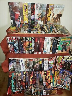 IMAGE🔥 IDW 🔥Indie, MIXED HUGE COMIC BOOK LOT of 80+ SPAWN, FAUST, HACK/SLASH