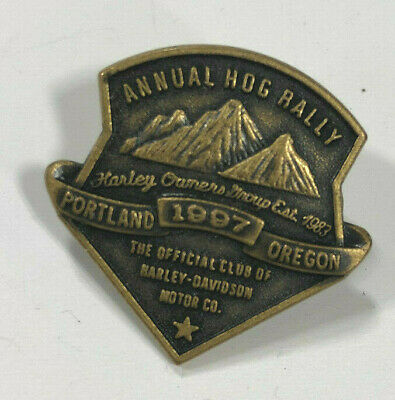 1997 HOG Rally Pin - Portland, Oregon (Harley Davidson Owner's Group)