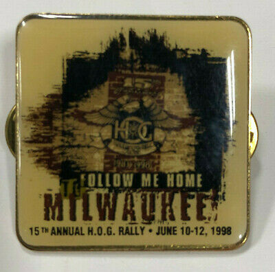 1998 HOG Rally Pin - Milwaukee 15th (Harley Davidson Owner's Group)
