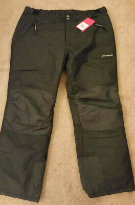 Lucky Bums Snow Pants Ski Snowboarding Adult Size L Black NEW!!!