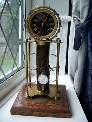 Very Unusual Antique French Skeltonised Clock- Pocket Watch Display Piece?