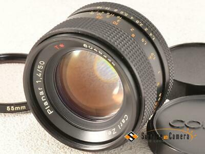 CONTAX Carl Zeiss T* Planar 50mm F1.4 AEJ [EXCELLENT] from Japan (16402)