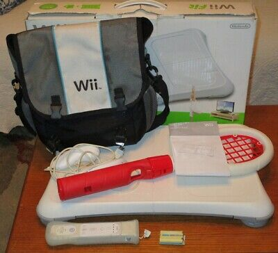 Wii Fit Balance Board With Other Accessories No Game
