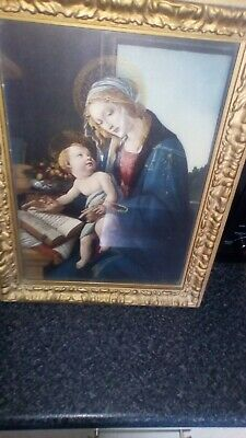 Antique 18th/19th baby Jesus & Mary Virgin Mother