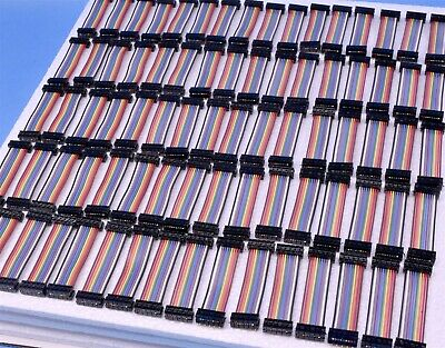 "80 Samtec IDC Cable Strip Ribbon Cable EDMS Series 10 Position 2 Row 2"" 2.54mm"