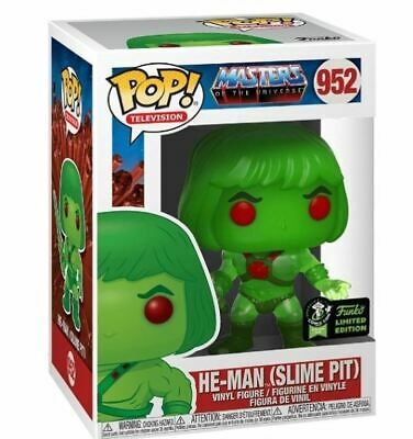 Funko Pop! ECCC 2020 He-Man Slime Pit GameStop Shared Exclusive Pre-Order