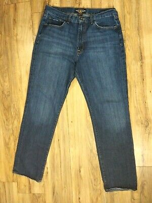 Lucky Brand 481 MADE IN USA Mens Relaxed Straight Jeans in Destination NEW 32x32
