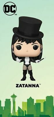 Funko Pop! ECCC 2020 DC Comics Zatanna Hot Topic Shared Exclusive Pre-Order
