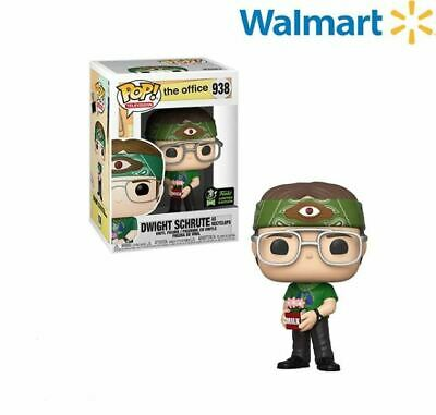 Funko Pop ECCC 2020 The Office Dwight Schrute Walmart Shared Exclusive Pre-Order