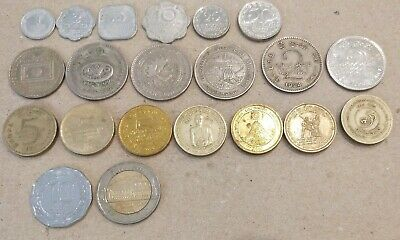 Sri Lanka lot of 21 different coins