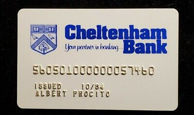 MAC Card Cheltenham Rockledge PA exp 1984♡Free Shipping♡cc940♡