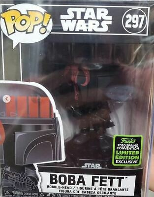 Funko Pop ECCC 2020 Star Wars Boba Fett Target Shared Exclusive Pre-Order