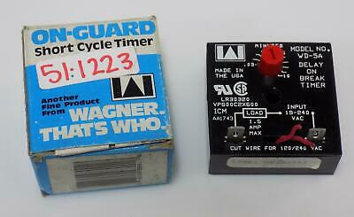 Wagner Short Cycle Timer Wd-5A