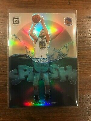 2019-20 Panini Optic STEPHEN CURRY Splash Silver Holo Prizm! Splash Bro!
