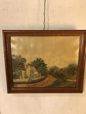 """Vintage Paintings Oil On Canvas 22X18 Signed """"Byers"""" SEE9pix4size/etc.MAKE OFFER"""