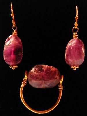 Egyptian Amethyst Scarab Jewelry  - Ancient Art & Antiquities
