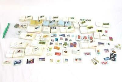 Over 2 lbs Bag Stamp Lot USA 1970 On Paper Mixed Collection Marked Eugene Oregon