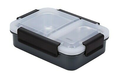 New Avanti 2 Compartment Lunch Box Storage Container Kitchen School Save Genuine