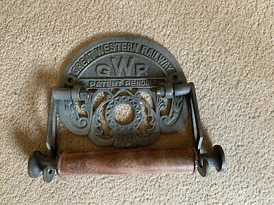 GWR toilet roll holder wall mounted