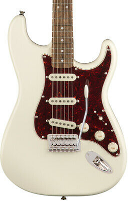 Fender Guitarra Eléctrica Squier Classic Vibe 70s Stratocaster LRL Olympic Whit
