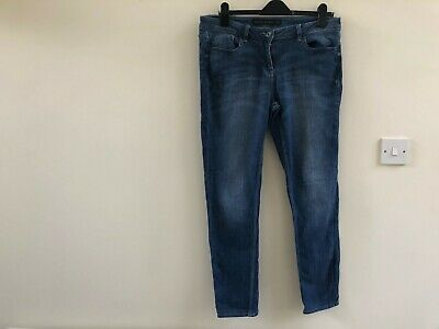 Next Relaxed Skinny Jeans Regular Size 14 Nearly New Condition