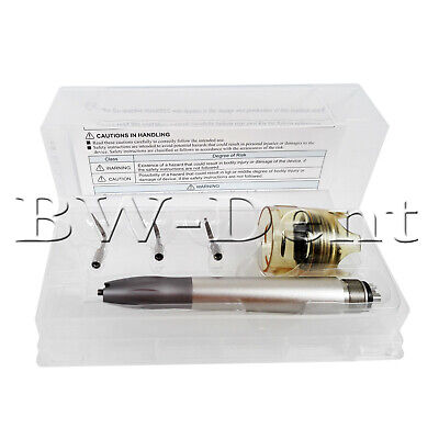 Bid Upgrade Dental Ultrasonic Air Scaler Handpiece 4Holes with Tips G1 G2 G3