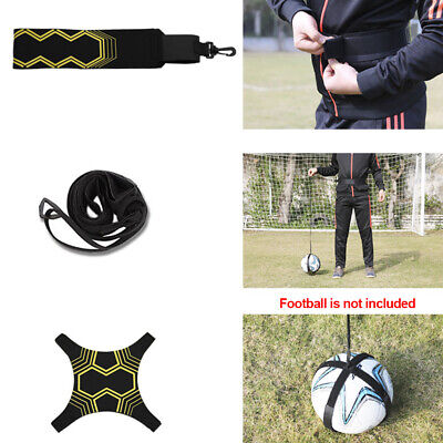 Football Adjustable Kick Trainer Soccer Ball Train Equipment Practice Belt Hot~
