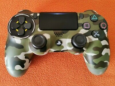 Sony Official PS4 Wireless Controller - V2 - Green Camo, Barely used