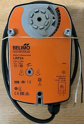 Belimo Lrf24 Rotary Actuator AC/DC 24v Auxiliary Switch