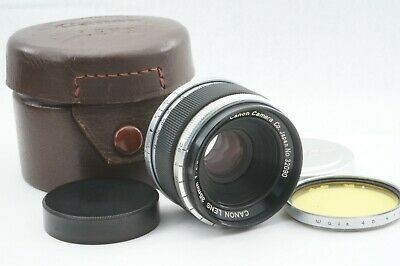 "RARE!! ""TESTED / EXC++"" CANON 35mm f2.8 Leica screw mount L39 LTM From JAPAN"