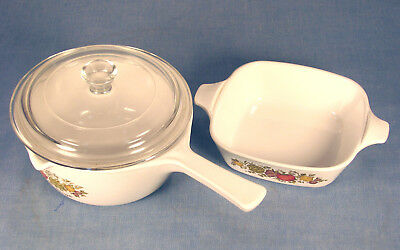 2 ½Cup Saucepan With Glass Lid And Petite Pan - No Lid Spice Of Life by Corning