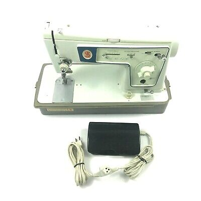 Singer Zig Zag Model 477 Sewing Machine with Pedal Vintage 1960s ✅ 5.C2