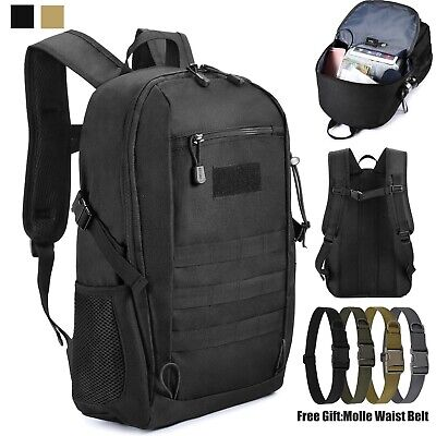 20L Military Molle Backpack Rucksack Tactical Assault Pack Hiking Camping Bag