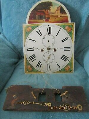 Grandfather Clock Mechanism and dial Face please read in full