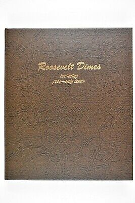 1946-2019 PDSS Roosevelt Dimes in Dansco Album With All Proofs 1950-2019