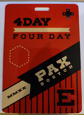 PAX East 2020 4 Day Pass