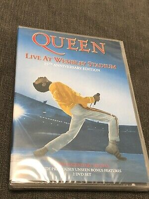 Queen - Live at Wembley Stadium (25th anniversary edition, 2 DVD SET - SEALED