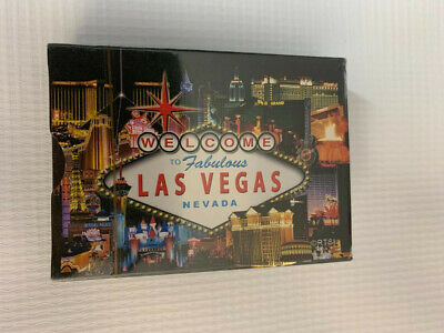 playing cards deck bundle (2) Las Vegas Atlantic City new sealed 1 of each style