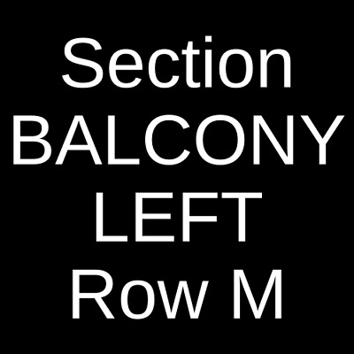 4 Tickets Heather McMahan 6/11/20 Agora Theatre Cleveland, OH