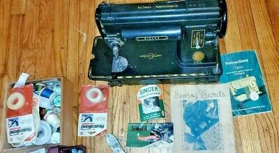 Vintage Singer 301 Sawing Machine With Accessories, Great Value.
